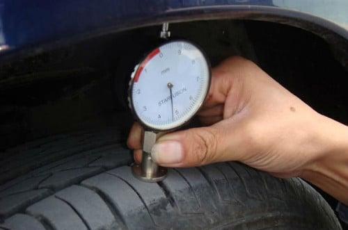Usure des pneus jauge de profondeur