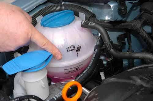 vérifier liquide de refroidissement