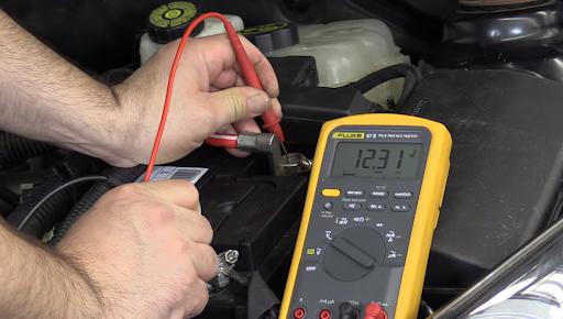test chargement batterie